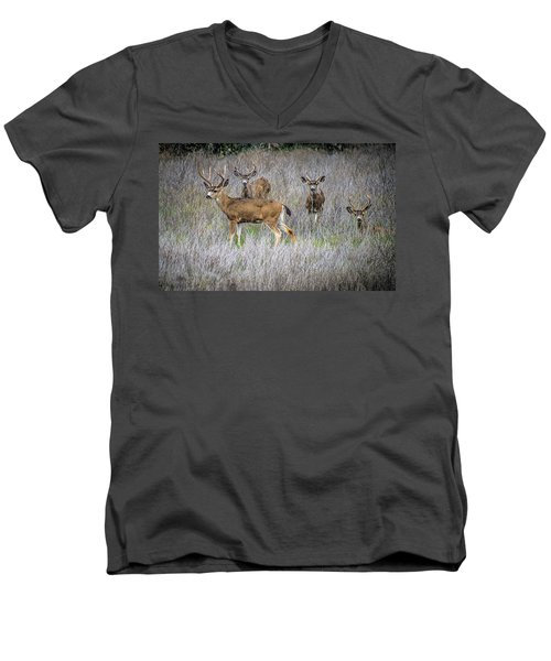 Young Bucks Men's V-Neck T-Shirt
