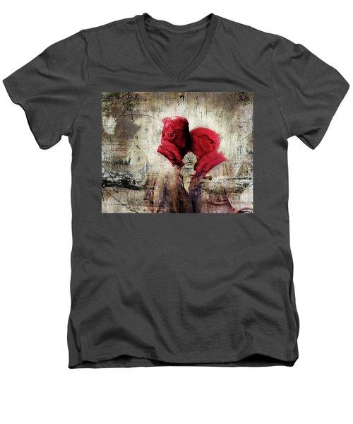 Young Lust Men's V-Neck T-Shirt