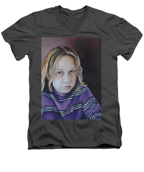Young Mo Men's V-Neck T-Shirt