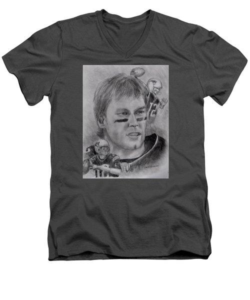 Young Tom Men's V-Neck T-Shirt