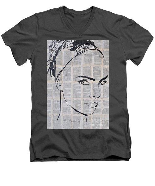 Your Eyes Men's V-Neck T-Shirt