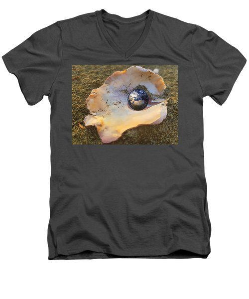 Your Oyster Men's V-Neck T-Shirt