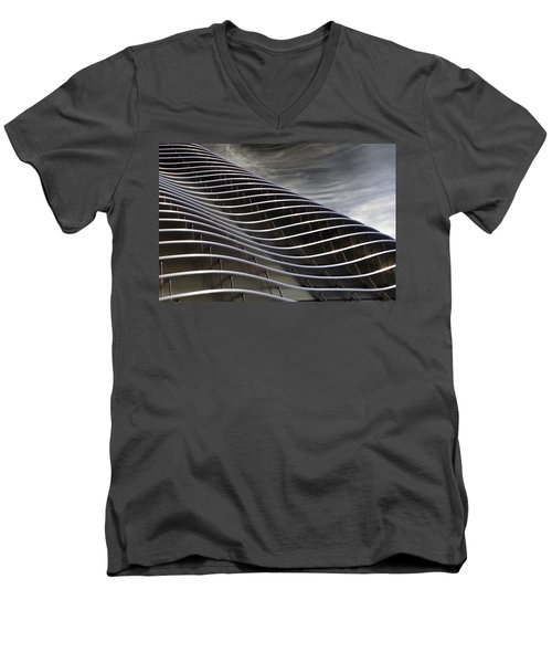 Zahner Facade Men's V-Neck T-Shirt by Christopher McKenzie