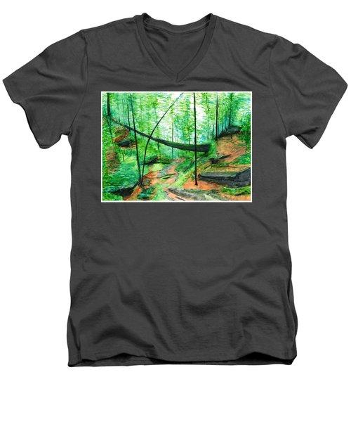 Zaleski Men's V-Neck T-Shirt