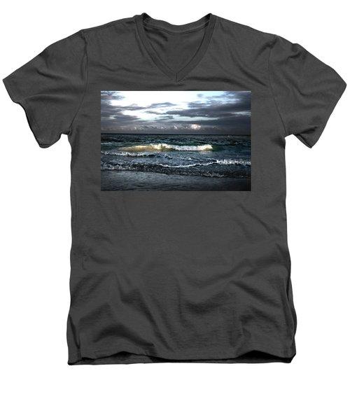 Zamas Beach #11 Men's V-Neck T-Shirt