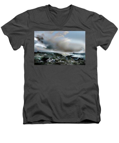 Zamas Beach #2 Men's V-Neck T-Shirt