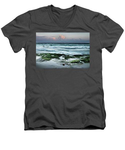 Zamas Beach #7 Men's V-Neck T-Shirt