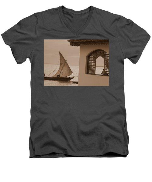 Zanzibar 1 Men's V-Neck T-Shirt