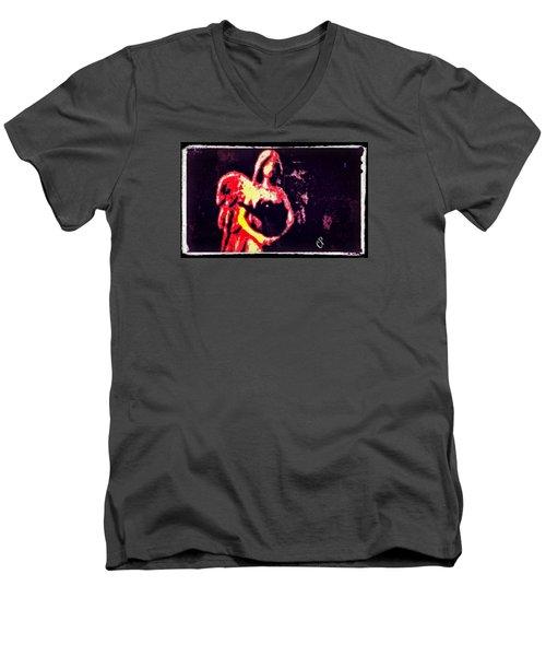 Zara Men's V-Neck T-Shirt