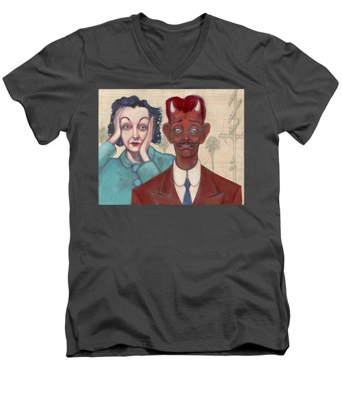 Zasu And Him... Men's V-Neck T-Shirt
