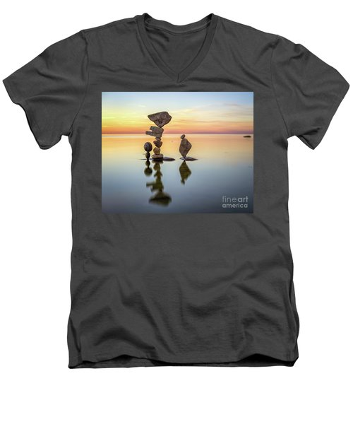 Zen Art Men's V-Neck T-Shirt