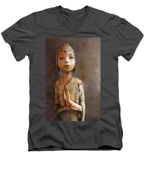 Zen Be With You Men's V-Neck T-Shirt