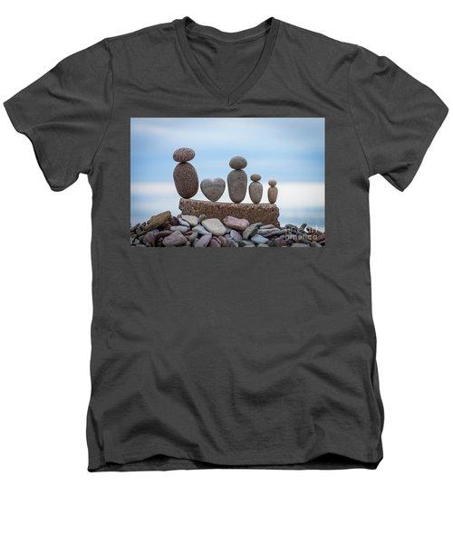 Zen Family Men's V-Neck T-Shirt