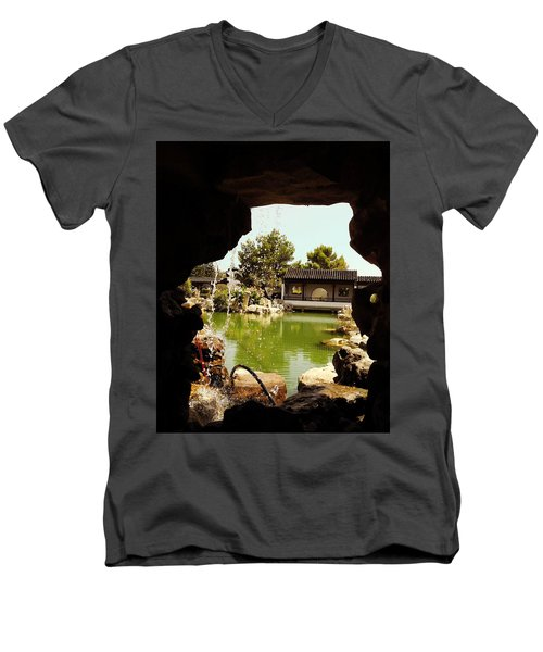 Zen Garden Men's V-Neck T-Shirt