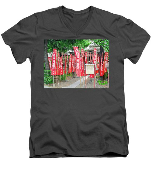 Zeniduka Hall Men's V-Neck T-Shirt