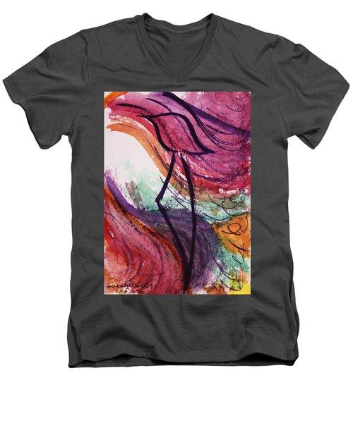 Zephyr Zayin Z2 Men's V-Neck T-Shirt