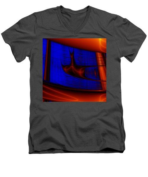 Zestbackle Men's V-Neck T-Shirt