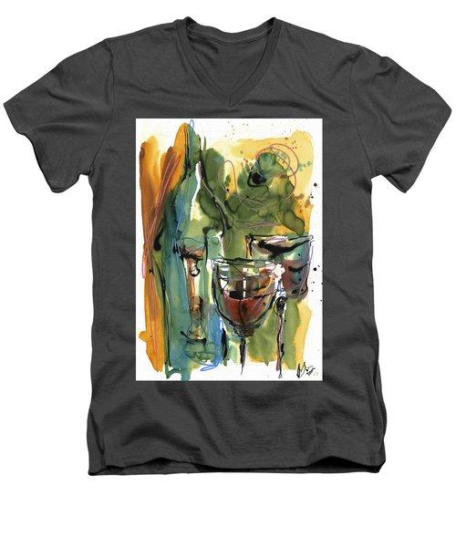 Zin-findel Men's V-Neck T-Shirt