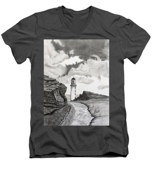 Zoe's Light Men's V-Neck T-Shirt