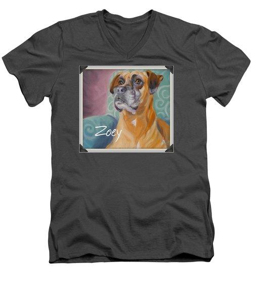 Zoey T Shirt To Order Men's V-Neck T-Shirt