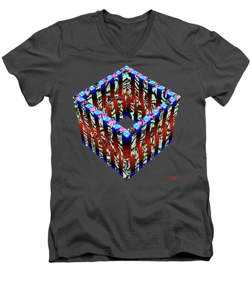 Zoidec 3 Men's V-Neck T-Shirt
