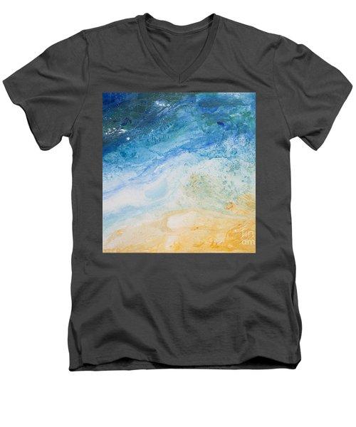 Zoom In Or Out Men's V-Neck T-Shirt