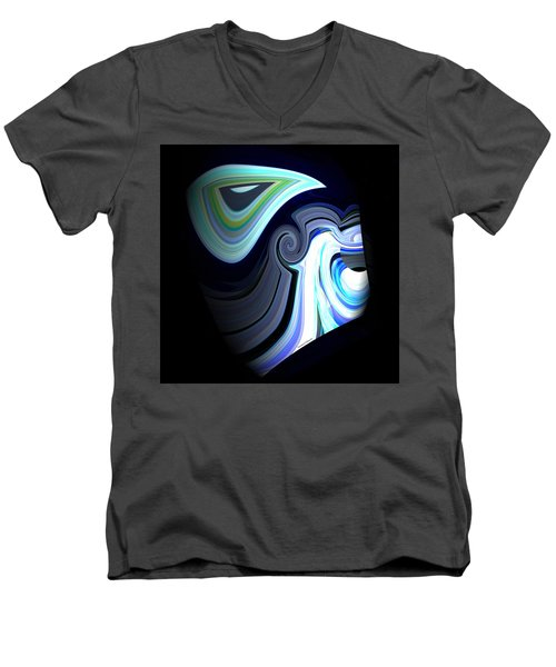 Zues Men's V-Neck T-Shirt