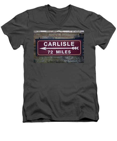 06/06/14 Settle. Period Destination Board. Men's V-Neck T-Shirt