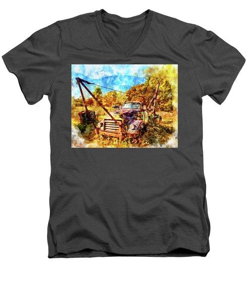 1950 Gmc Truck Men's V-Neck T-Shirt