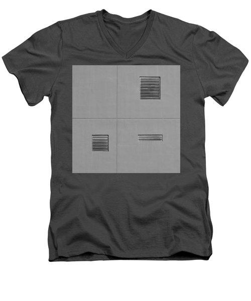 Asymmetry Men's V-Neck T-Shirt