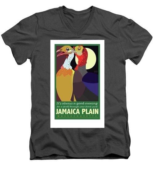 Date Night Jp Men's V-Neck T-Shirt