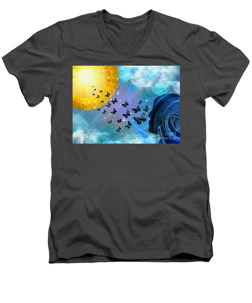 Destiny #2 Men's V-Neck T-Shirt