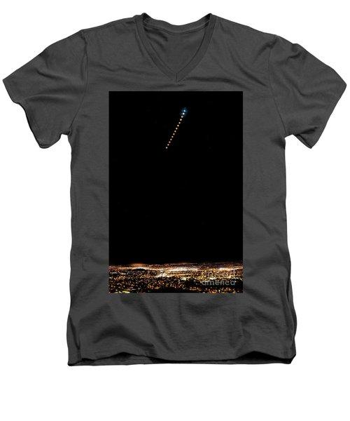 Eclipse Men's V-Neck T-Shirt
