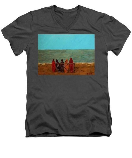 Five Reasons Men's V-Neck T-Shirt
