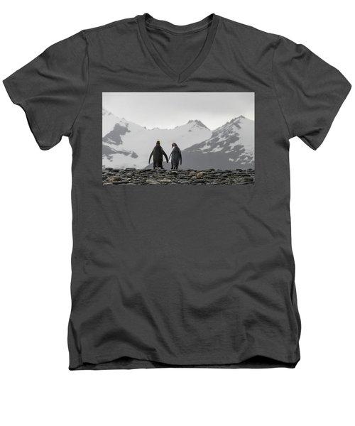Hand In Hand Men's V-Neck T-Shirt