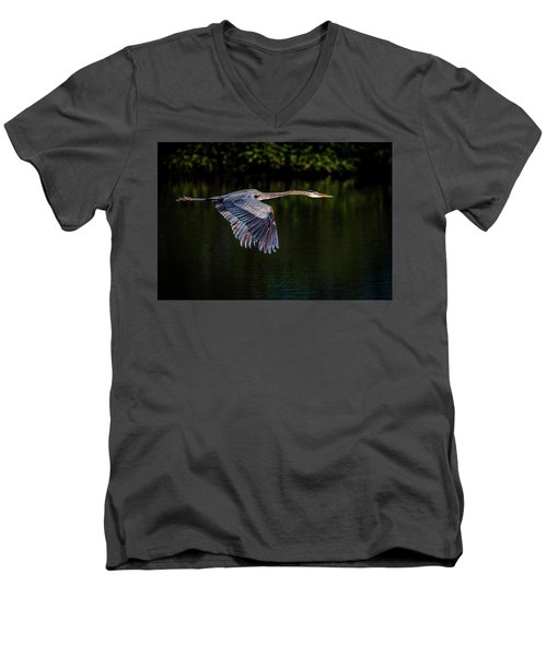 Heading Home Men's V-Neck T-Shirt
