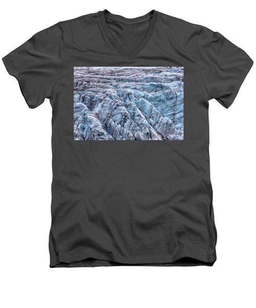 Iceland Glacier  Men's V-Neck T-Shirt