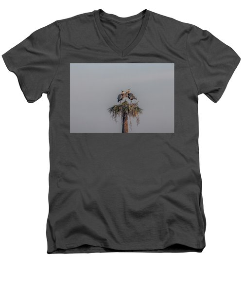It Must Be Love Men's V-Neck T-Shirt