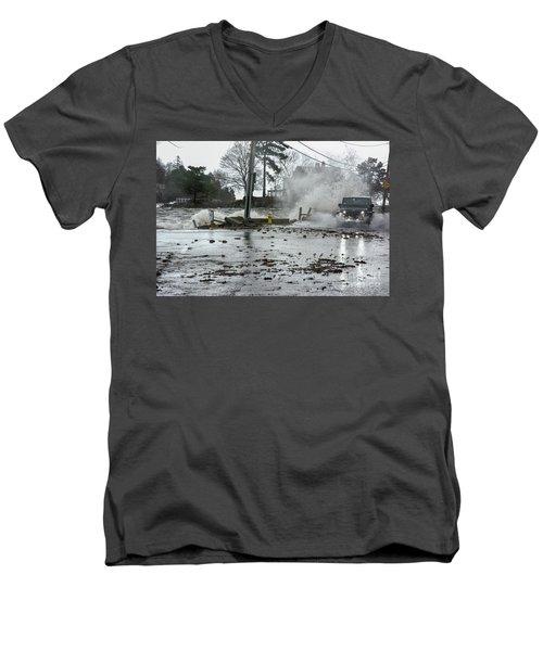 Jeep Splash Men's V-Neck T-Shirt