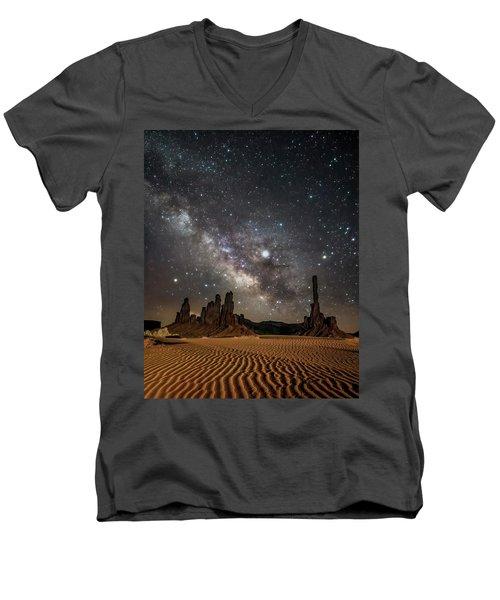 Jupiter's Staircase Men's V-Neck T-Shirt