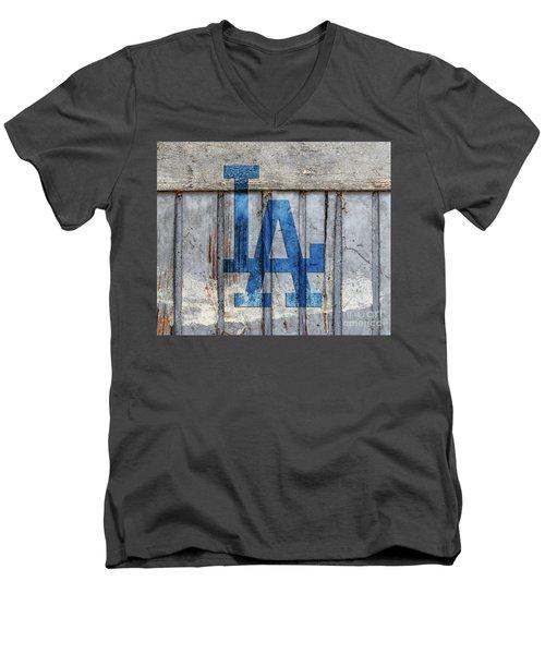 La Dodgers Men's V-Neck T-Shirt