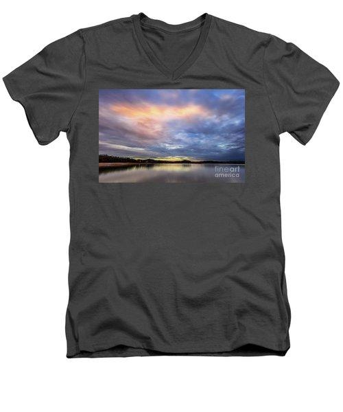 Lake Sidney Lanier Men's V-Neck T-Shirt