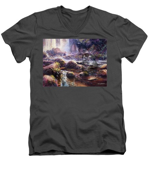 Living Water Men's V-Neck T-Shirt