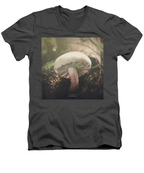 Look At The Mushroom Men's V-Neck T-Shirt