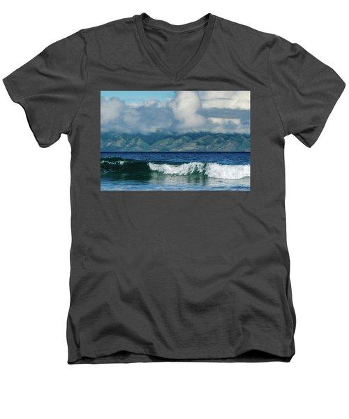 Maui Breakers Men's V-Neck T-Shirt