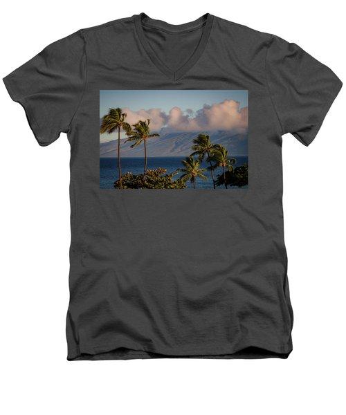 Maui Palms Men's V-Neck T-Shirt