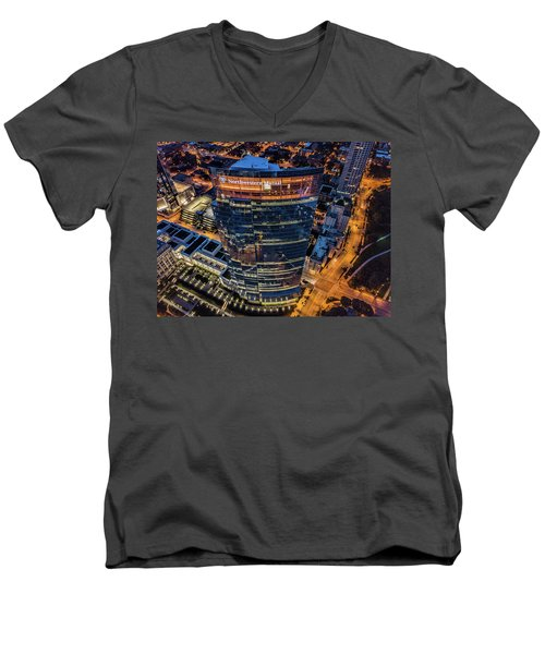 Northwestern Mutual Tower Men's V-Neck T-Shirt