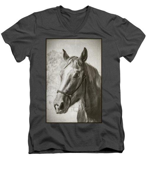 Old West Transportation Men's V-Neck T-Shirt