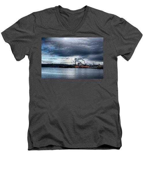 Production Men's V-Neck T-Shirt