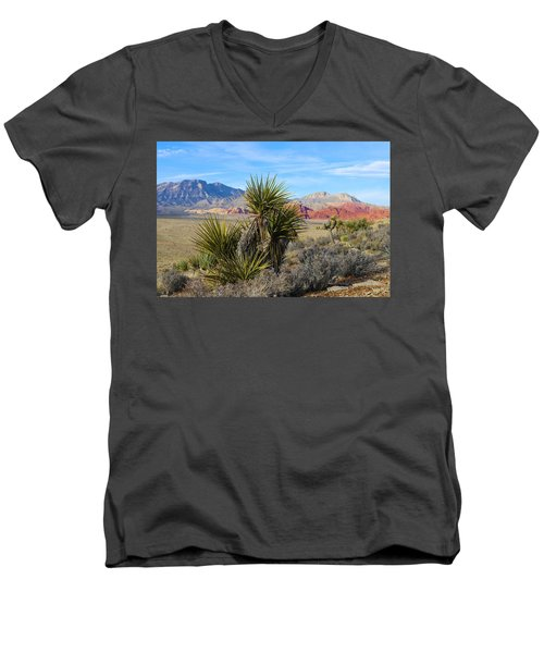 Red Rock Canyon National Conservation Area Men's V-Neck T-Shirt